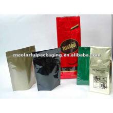 Gusset oder Doypack Design Kaffee / Tee Verpackungstüten
