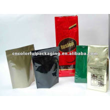 Diseño de Gusset o Doypack Bolsas de embalaje de café / té