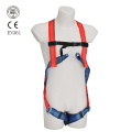 colourful safety harness full body type