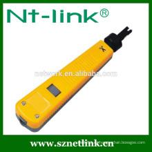 Color amarillo con herramienta de perforación de 110 cuchillas