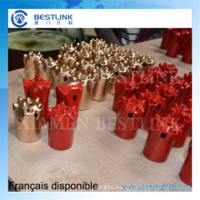 Tungsten Carbide Small Hole Drilling Button Bits for Rock Exploitation