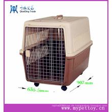 Plastikhandgriff Haustier-Fördermaschine auf Rädern, gehender Haustier-Fördermaschine