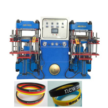 auto-open-mould silicone wristband forming/making machine
