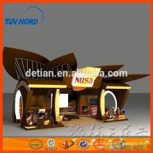 exposição de cabine de exposição de aluguel de Shanghai 6m * 6m