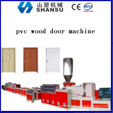 2014 SHANSU PVC WPC PORTE Chaîne de production / WPC HOLLOW BOARD MACHINE shansu marque