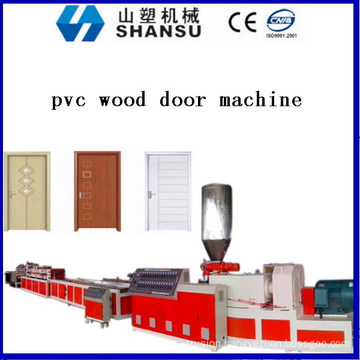 PVC WOOD DOOR EXTRUSION MACHINE