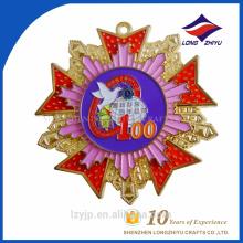 Custom 3D zinc alloy souvenir medal replica medals