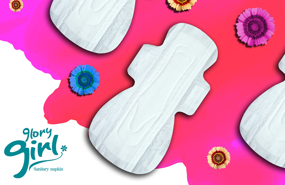 Natural sanitary towels