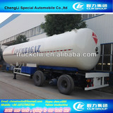 ASME 56m3 LPG trailer,LPG tank trailer,LPG gas semi trailer,LPG tank truck trailer,liquid propane transport trailer on sale
