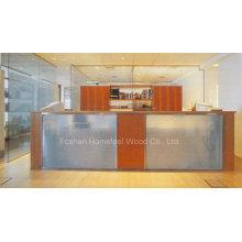 Secretária de recepção de espelho para salão de espelho (LT-E409)