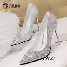 2017 sexy lady shoes high-heeled bare feet with a slim woman beautiful sandal