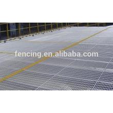 suelo de plataforma reja de acero galvanizado / reja de acero