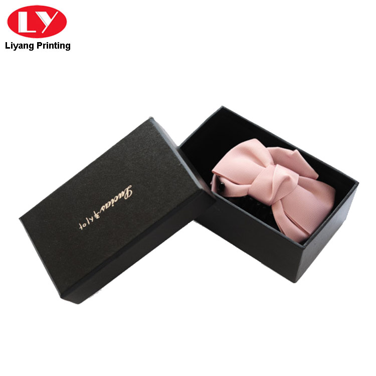 Bow Tie Box Black