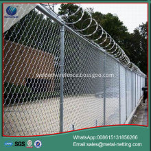 diamond mesh fence galvanized chain link fence