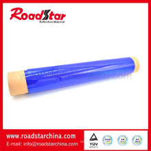 Prism reflective sheeting roll for cone sleeve