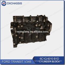 Véritable bloc-cylindres 6C1Q 6010 B1D / EEC1 6010 AA du transit V348 2.4L