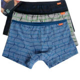 Men's Boxer Briefs with Full Over PrintingNew