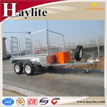 tractor hydraulic dump trailer hinge