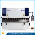 China bestes WC67K-Platte cnc fabrizierte tragbare Sammelschienenmaschine Presse-Bremse