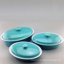 Farbe angepasst Keramik Backformen (Set)