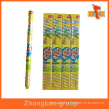 OEM factory customizable water proof heat sensitive shrink wrap label for pencil with your design