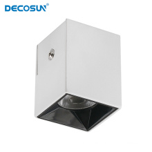 3W+8W Rounded Square Aluminum Reading Spot Wall Lamp