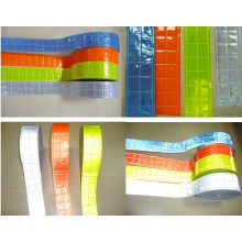 high visibility color prismatic PVC reflective tape