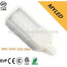 Novo modelo smd2835 10w levou lâmpada pl