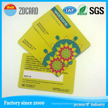 Hot Selling Transparent PVC Card/Smart ID Card/PVC Business Card