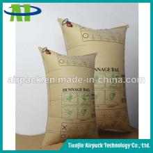 Kraftpapier-aufblasbarer Dunnage-Airbag schützen sich für Ferntransport-Waren