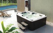 Monalisa 4 Seats Acrylic Outdoor SPA Massage Bathtub Whirlpools Hot Tub Surfing Bath Jaccuzi