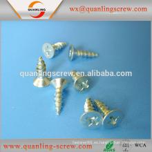 Venta por mayor mercancías de sujetador del hardware de china galvanizado tornillo de madera aglomerada