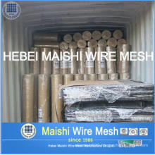 Black PVC Coated Welded Wire Mesh Rolls