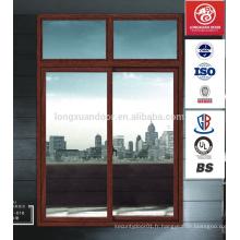 Fenêtres en alliage d'aluminium coulissant à isolation thermique avec meilleur prix / fournisseur chinois