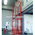 Electric stationary hydraulic goods lift