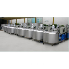 Sanitary Stainless Steel Cow Farmland Tank Small Cow Milk Cooler
