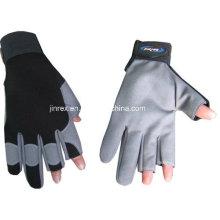 Bau, der mechanischen vollen Finger-Gel-Polsterungs-Handschuh bearbeitet