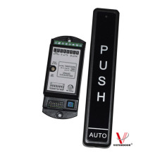 automatic door push button and receiver
