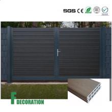Co-Extrusion impermeable barato de madera compuesto de paneles de pared de plástico al aire libre