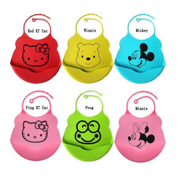 Waterproof  Dishwasher Safe Soft Baby Silicone Gift