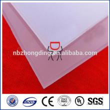 mattiertes / prisma-Diffusor-Polycarbonat-Blech für LED-Licht