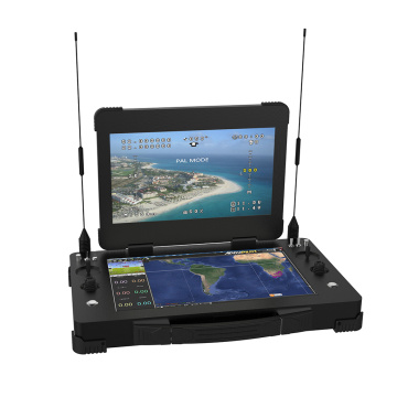 Portable UAV Ground Control System Dual Screen GCS