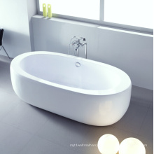 Bain de trempage debout de grande baignoire ovale de grande taille