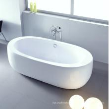 Big Large Oval Cupc Bath Tub Free Standing Soaking Bath