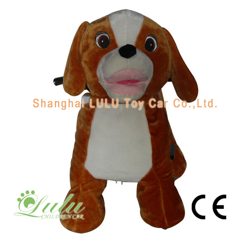 Chien animaux Rider Coin Operated Machine