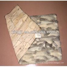 Chnesche Chinchillakaninchen-Bauchpelzplatte