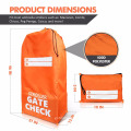 Stroller Travel Bag Cover Durable Polyester with shoulder Strap, Water Resistant, Lightweight Great for Airport Gate Check