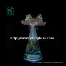 Angle de verre de prière pour décoration intérieure par BV (8 * 10.6 * 19)