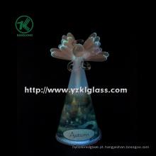 Ângulo de vidro Praying para a decoração Home por BV (8 * 10.6 * 19)