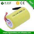 ni-mh batería recargable de 4/5 SC 1200mah 1.2v